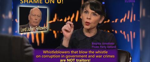 Whistleblowers are NOT traitors!