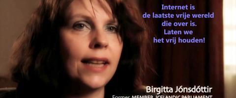 Internet vrij houden! - Birgitta Jónsdóttir