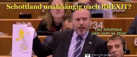 Schottland unabhängig nach BREXIT?