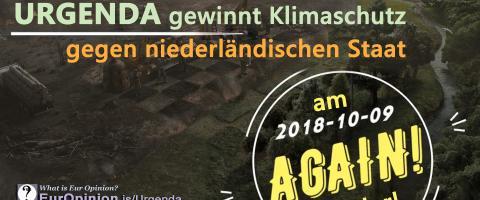 Urgenda gewinnt Klimaschutz gegen niederländischen Staat