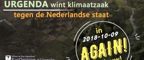 Urgenda wint tweemaal klimaatzaak tegen Nederlandse staat