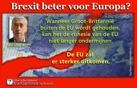 BREXIT beter voor Europa?