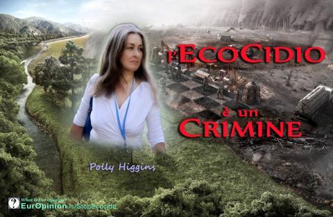 l'Ecocidio è un Crimine