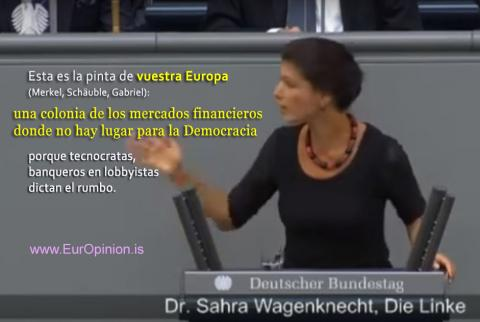 Sahra Wagenknecht - Así es VUESTRA EUROPA