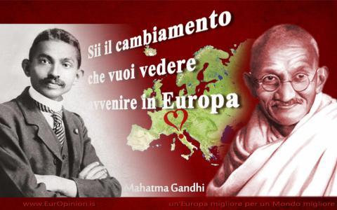 SII il cambio che vuoi vedere in Europa!