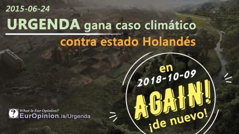 Urgenda gana caso climático contra estado Holandés