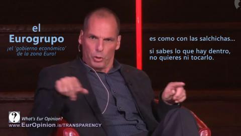Yanis Varoufakis sobre el Eurogrupo